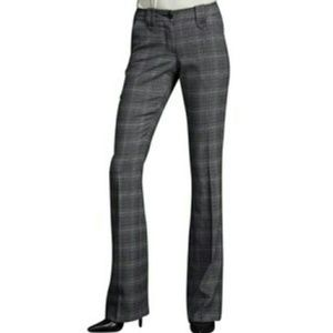 CAbi Counsel Plaid Trousers Style 922L Size 12 L